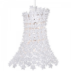 Kartell Bloom Pendant Lamp Glosst White