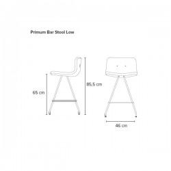 Bent Hansen Primun Bar Stool Low