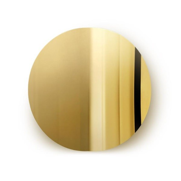 Mater Imago Mirror Object   Brass