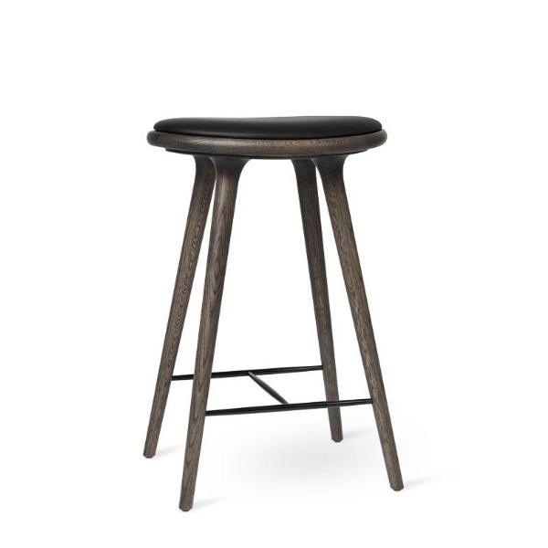 Mater High Stool Sirka Grey Dark Stained Oak 69cm