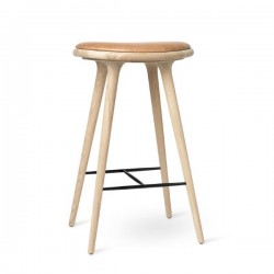 Mater High Stool Soaped Oaky 74cm