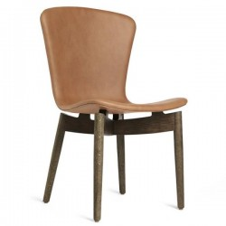 Mater Shell Dining Chair | Ultra Brandy