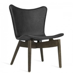 Mater Shell Lounge Chair | Dunes Anthracite Black