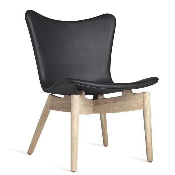 Mater Shell Lounge Chair   Ultra Black