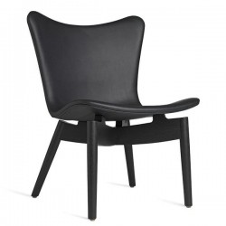 Mater Shell Lounge Chair | Ultra Black