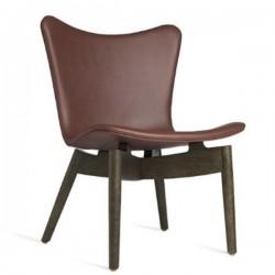 Mater Shell Lounge Chair | Ultra Cognac