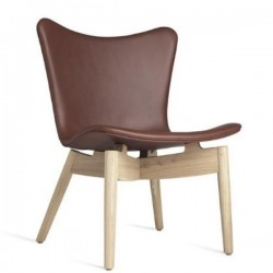 Mater Shell Lounge Chair | Ultra Cognac