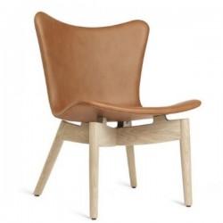 Mater Shell Lounge Chair | Ultra Brandy