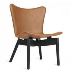 Mater Shell Lounge Chair | Ultra Brandy