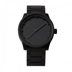 LEFF amsterdam Tube Watch S38 Black