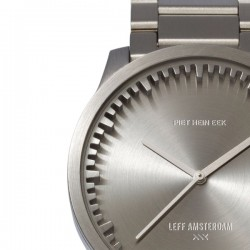 LEFF amsterdam Tube Watch S38 Steel