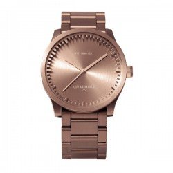 LEFF amsterdam Tube Watch S38 Rose Gold