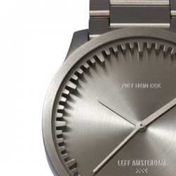 LEFF amsterdam Tube Watch S42 Steel