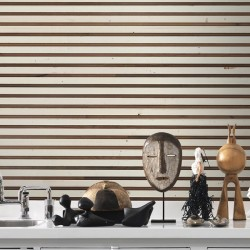 NLXL TIM-03 Timber Strips Wallpaper By Piet Hein Eek