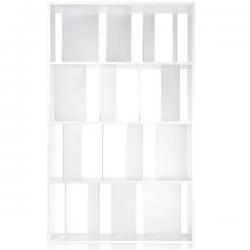 Kartell Sundial Bookcase White - Clear