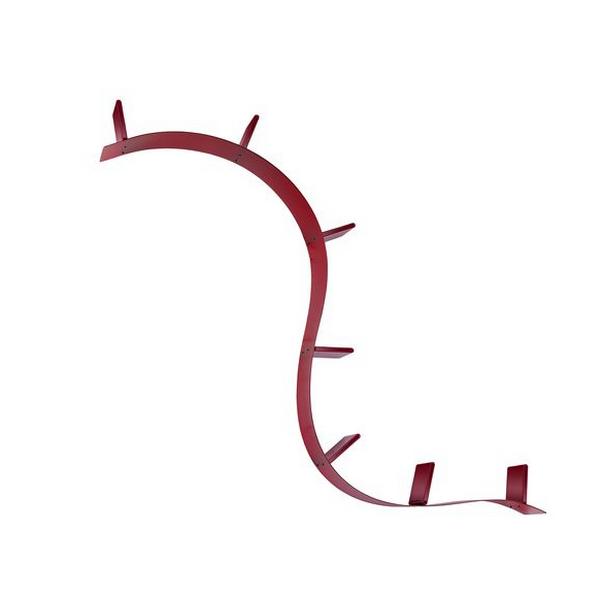 Kartell Bookworm 3m20 Wine Red