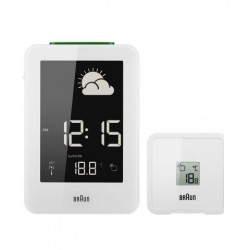 Braun Weather Station Radio Controlled White