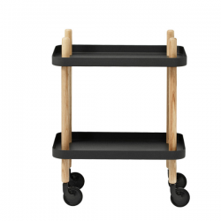 Normann Copenhagen Block Trolley Black