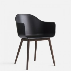 Menu Harbour Chair Shell/Wood Base