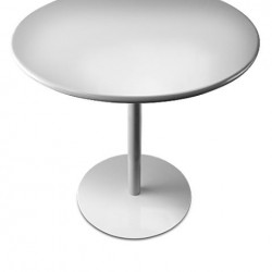 Lapalma Brio Table White or Black Foot