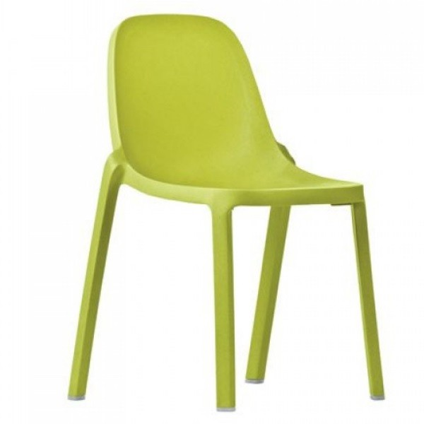 Emeco Broom Chair by Phillip Starck Green