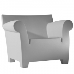 Kartell Bubble Club Chair Pale Gray