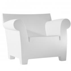 Kartell Bubble Club Chair Zinc White