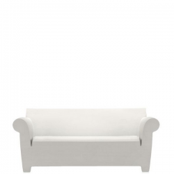 Kartell Bubble Club Sofa Zinc White