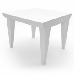 Kartell Bubble Club Table Zinc White