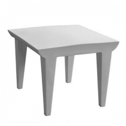 Kartell Bubble Club Table Pale Grey