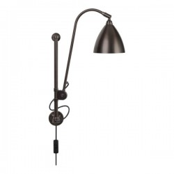 Bestlite BL5 Wall Lamp, black brass