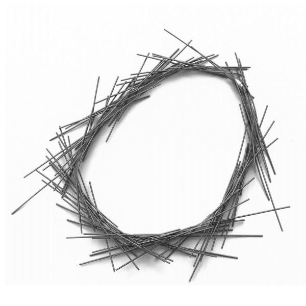 Materia Design Spike Metal Necklace