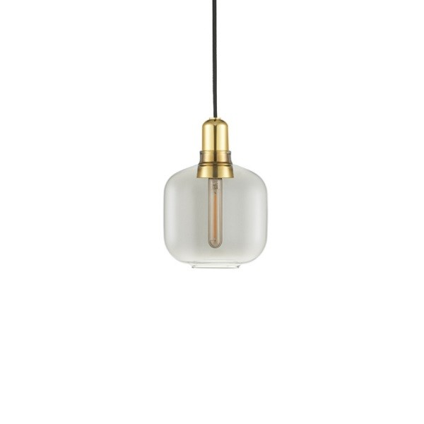 Normann Copenhagen Amp Pendant Light Small Brass