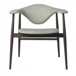 Gubi Masculo Dining Chair Wood Base
