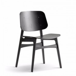 Fredericia Søborg Wood Base Chair