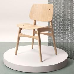 Fredericia Søborg Wood Base Chair