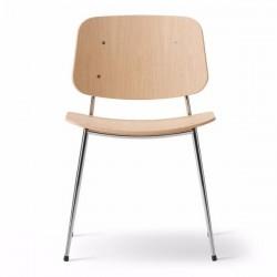 Fredericia Søborg Steel Frame Chair