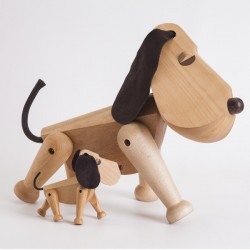 Architectmade Rufus Wooden Dog