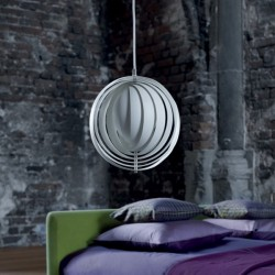 Verpan Moon Pendant Light Small