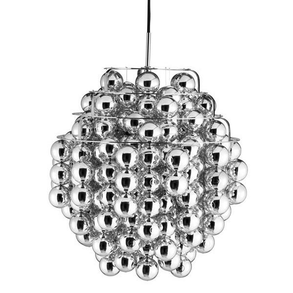 Verpan Ball Silver Pendant Light