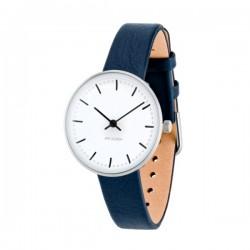 Arne Jacobsen City Hall Watch 30cm Blue Strap (