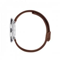Arne Jacobsen Roman Watch White Dial, Matt Copper Mesh
