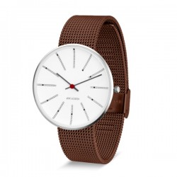 Arne Jacobsen Bankers Watch Copper Mesh