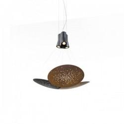 Fabbian Lens F46 A05 Hanging Lamp