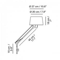 Carpyen Lektor Clip On Lamp