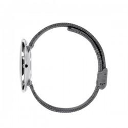 Arne Jacobsen Roman Watch White Dial, Grey Mesh