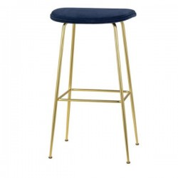 Gubi Beetle Bar Stool Fully Upholstered 75cm
