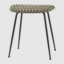 Gubi Beetle Stool Fully Upholstered