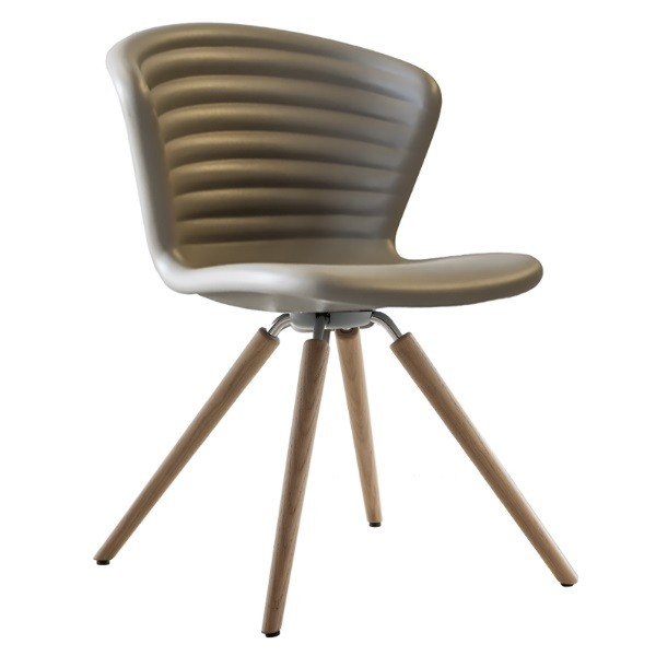 Tonon Marshmallow Chair Wood Legs