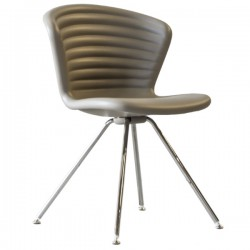 Tonon Marshmallow Chair 4 Legs Steel Base